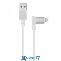 Moshi Lightning to USB Cable 90-degree White (1.5 m) (99MO023128)