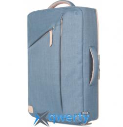 Moshi Venturo Slim Laptop Backpack Steel Blue (99MO077511)