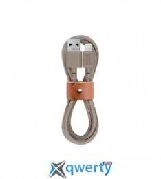 Native Union Belt Cable Lightning Taupe (1.2 m) (BELT-KV-L-TAU-2)