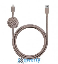 Native Union Night Cable Lightning Taupe (3 m) (NCABLE-KV-L-TAU)