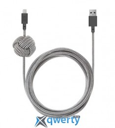 Native Union Night Cable Lightning Zebra (3 m) (NCABLE-KV-L-ZEB)