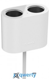 Адаптер RoidMi 1 to 2 charger adapter White