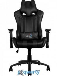 AEROCOOL AC120B (ACGC-2002101.11) (чёрное) + 2 подушки (шея/поясница)