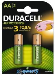 Duracell Ni-MH AA/HR06 1300 mAh BL 2шт (81367175)