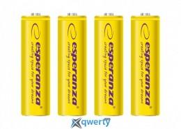 Esperanza Ni-MH AA/HR06 2000 mAh BL 4шт Yellow (EZA104Y)