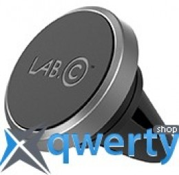 Lab.C Magnetic Air Vent Car Mount Grey (LABC-597-GR)