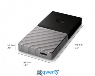 WD My Passport 256GB USB 3.1 TLC (WDBK3E2560PSL-WESN)
