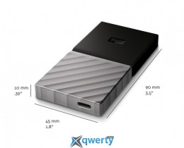 WD My Passport 512Gb USB 3.1 TLC (WDBK3E5120PSL-WESN)