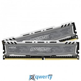 Crucial DDR4-2400 8192MB PC4-19200 (Kit of 2x4096) Ballistix Sport LT (BLS2C4G4D240FSB)