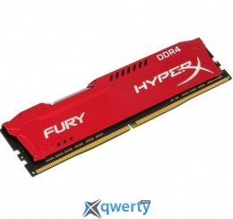 Kingston DDR4-2666 16384MB PC4-21300 HyperX Fury Red (HX426C16FR/16)