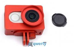 Чехол рамка для Xiaomi Yi Sport Лицензия (red)