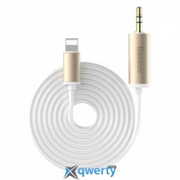 Baseus Enjoy Apple Transfer Male Audio Cable 1.2M Gold (NGB37-0V)