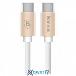 Baseus Gather Series Type-C to Type-C Cable Luxury Gold (CATYPEC2-GR0V)
