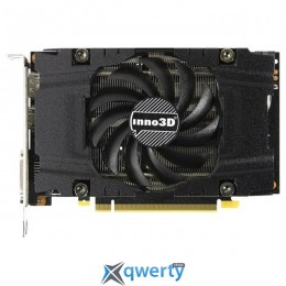 Inno3D Compact  PCI-Ex GeForce GTX1060 6GB GDDR5 (192bit) (1506/8000) (DP, DVI, HDMI) (N1060-4DDN-N5GM)