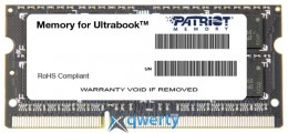 PATRIOT Signature Line SO-DIMM DDR3 1600MHz 4GB PC-12800 (PSD34G1600L2S)