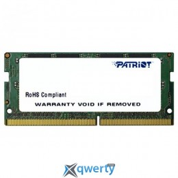 PATRIOT Signature Line SO-DIMM DDR4 2400MHz 4GB PC-19200 (PSD44G240081S)