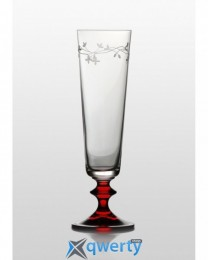 Bella набор бокалов для шампанского (Olly рубин) 205 мл. 6 шт.