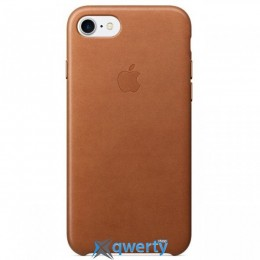Apple iPhone 7 Leather Case Saddle Brown (MMY22)
