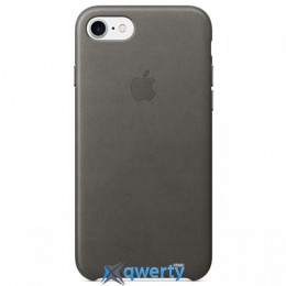 Apple iPhone 7 Leather Case Storm Gray (MMY12)