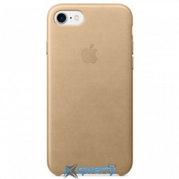 Apple iPhone 7 Leather Case Tan (MMY72)