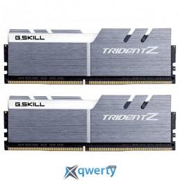 G.SKILL Trident Z Silver/Red DDR4 3200MHz 16GB (2x8GB) XMP PC-25600 (F4-3200C16D-16GTZSW)