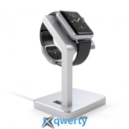Satechi Aluminum Apple Watch Charging Stand Silver (ST-AWSS)