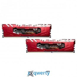 G.SKILL Red DDR4 2400MHz 32GB 2x16GB XMP (F4-2400C15D-32GFXR)