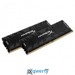 KINGSTON HyperX Predator Black DDR4 2400MHz 32GB (2x16GB) XMP PC4-19200 (HX424C12PB3K2/32)