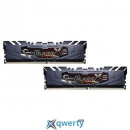 G.SKILL Flare X Black DDR4 2400MHz 32GB Kit 2x16GB XMP PC-19200 (F4-2400C15D-32GFX)