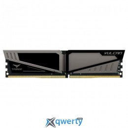 KTEAM T-Force Vulcan Gray DDR4 2400MHz 16GB XMP PC-19200 (TLGD416G2400HC15B01)