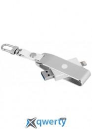 MOMAX Elite lightning card reader Silver (CL1S)