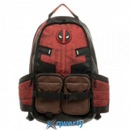 Bioworld Marvel Deadpool Laptop Backpack - ST