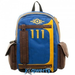 BioWorld Fallout Vault Tec Suit Up 111 Armored Laptop Backpack