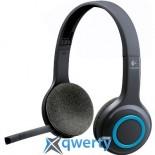 Наушники Logitech H600 Wireless Headset, радиус 10 м, 6 часов работы, USB (981-000342