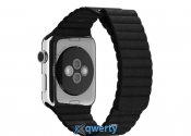 Apple Watch 38mm Leather Loop Black