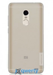 ЧЕХОЛ NILLKIN XIAOMI REDMI NOTE4 - NATURE TPU GRAY