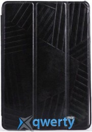 Чехол-книжка для iPad Air Miracase Veins I case, black (MS-100)