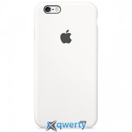 Чехол Leather soft case iPhone 6 White