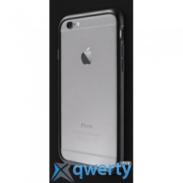 Patchworks, Alloy X for iPhone 6, Black,9100