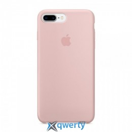 Чехол Original silicone case for iPhone 7plus pink sand