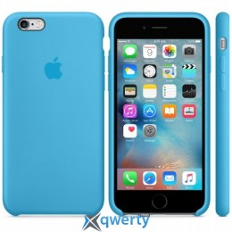 Чехол Silicone Case High Copy iPhone 6/6s Blue