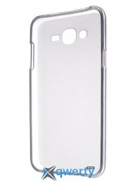 Drobak Elastic PU для Samsung Galaxy J7 SM-J700H (White Clear)