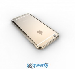 Patchworks, Alloy X for iPhone 6, Gold,9101