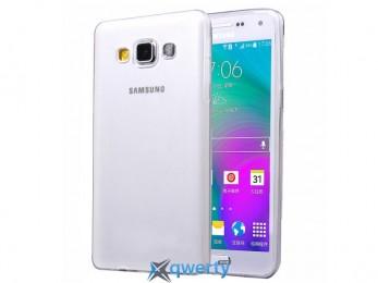 A500 Galaxy A5 white, Samsung Ultrathin TPU 0.3 mm cover case