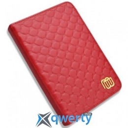 Чехол Leather Cover Quilted Red with LED light for Kindle 5/Kindle 4 (MB28832)