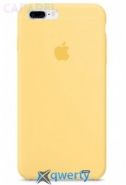 Чехол Silicone case Copy iPhone 7 (yellow)