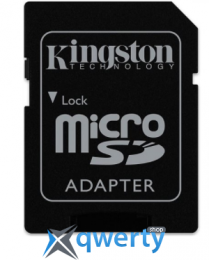 Карта памяти Kingston 16GB microSDHC C10 UHS-I U3 R90/W45MB/s + SD адаптер Action SDCAC/16GB