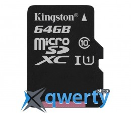 Kingston 64GB microSDXC UHS-I U3 zapis 45MB/s odczyt 90MB/s SDCAC/64