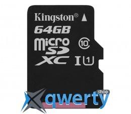 Kingston 64GB microSDXC UHS-I U3 zapis 45MB/s odczyt 90MB/s SDCAC/64 купить в Одессе