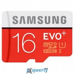 Samsung microSDHC 16 GB EVO Plus UHS-I Class 10 (MB-MC16DA/RU)